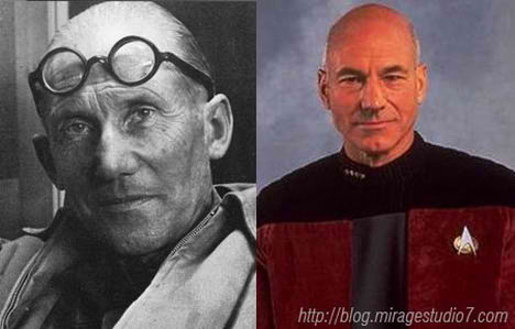 Le Corbusier Jean Luc Picard Famous Architects Separated at Birth
