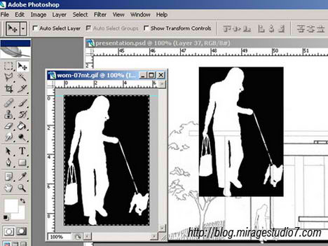 Photoshop Image Masking tutorial