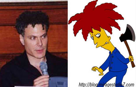 Sanford Kwinter Sideshow Bob Famous Architects Separated at Birth