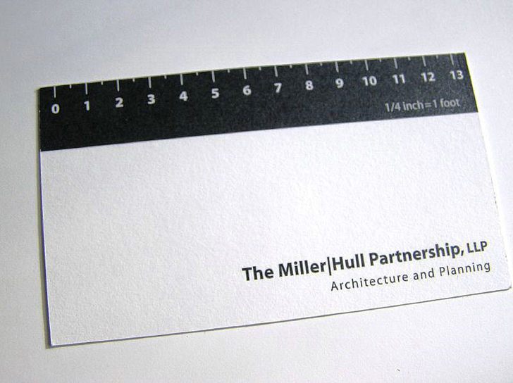 creative business cards for architect - Architect Business Card