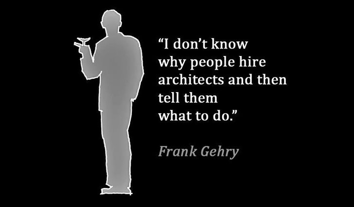 Frank Gehry on Hiring Architects