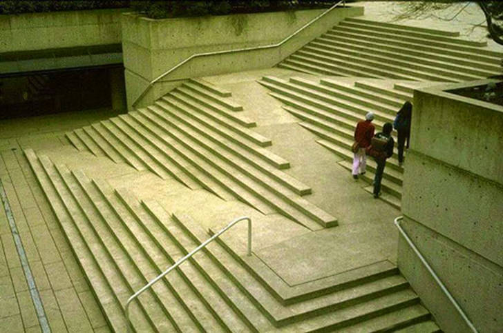 Creative Ramp Stairs For The Able and Disable