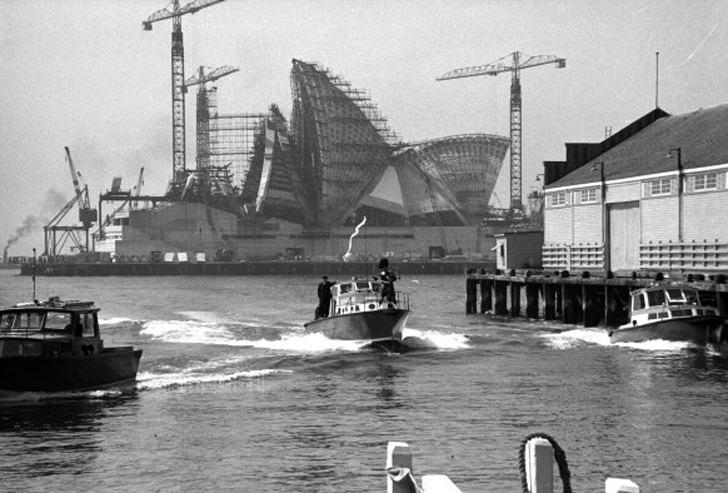 sdyney opera house construction australia