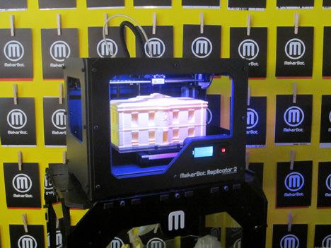makerbot 3d printer printing