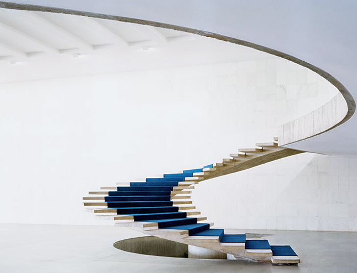 winding stairs brazil architecture creative