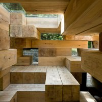 Final Wooden House in Kumamura Village, Japan by Sou Fujimoto Architects