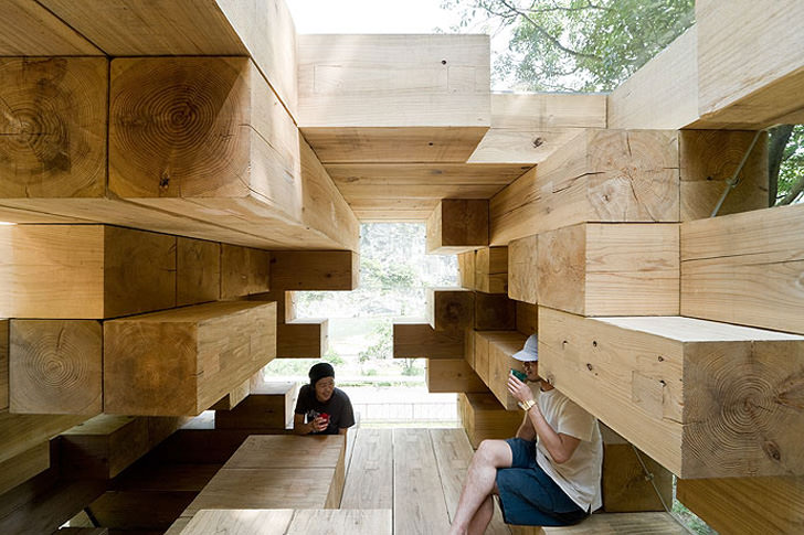 final wooden house in kumamura village  japan by sou
