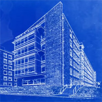 Photoshop Tutorial – Transform a Photo into an Architect's Blueprint Drawing