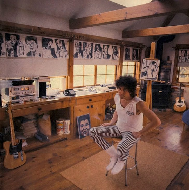 bob dylan work space Work Spaces Of Creative And Successful People