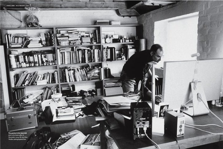 steve jobs office table Work Spaces Of Creative And Successful People