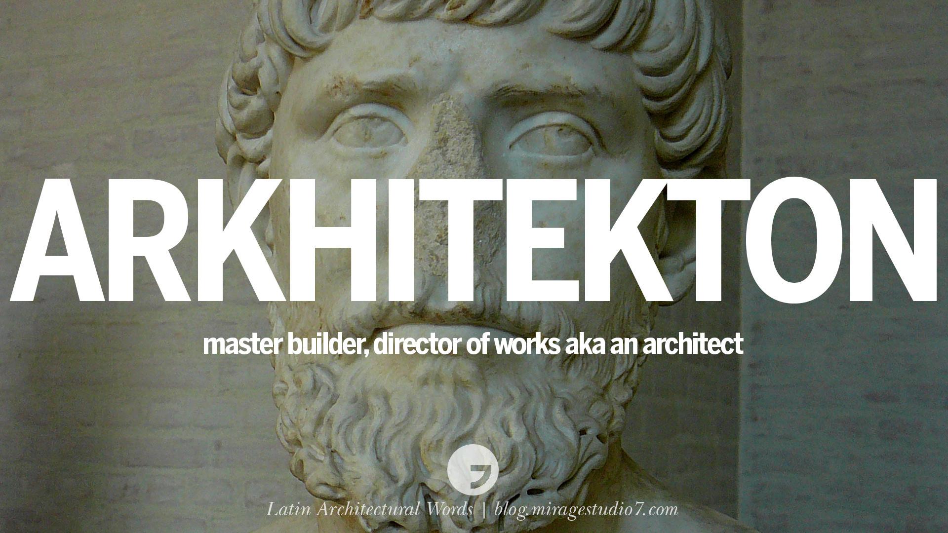 latin word for interior designers