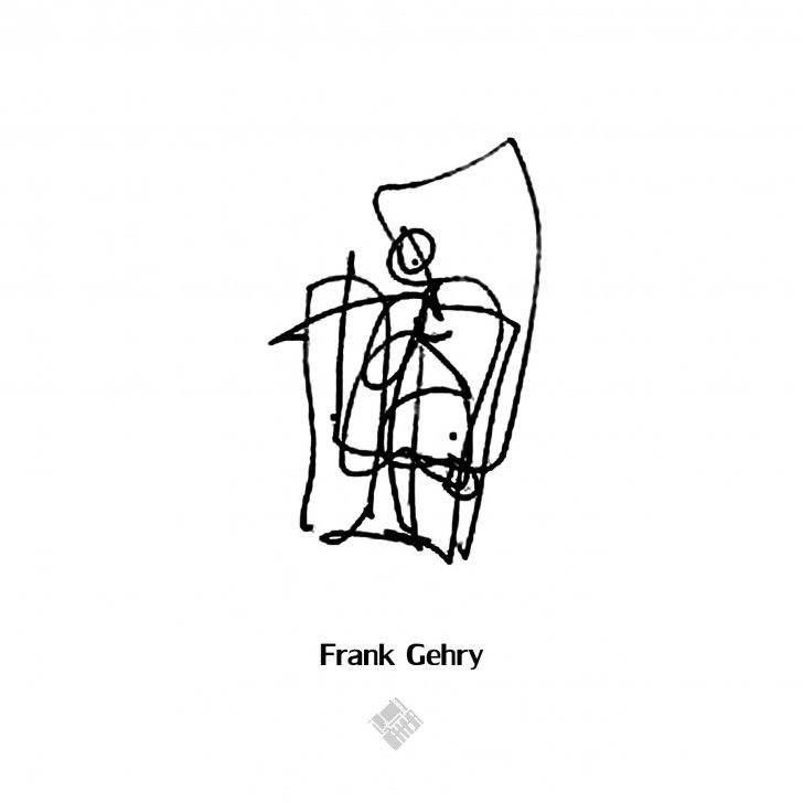 frank gehry figure